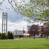 Husson bell tower in spring img 1015 matt green hamann