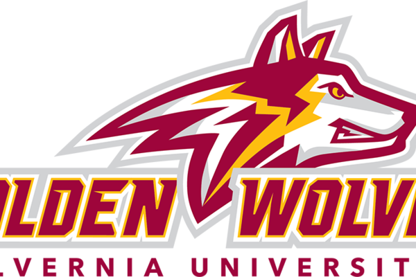Golden wolves logo