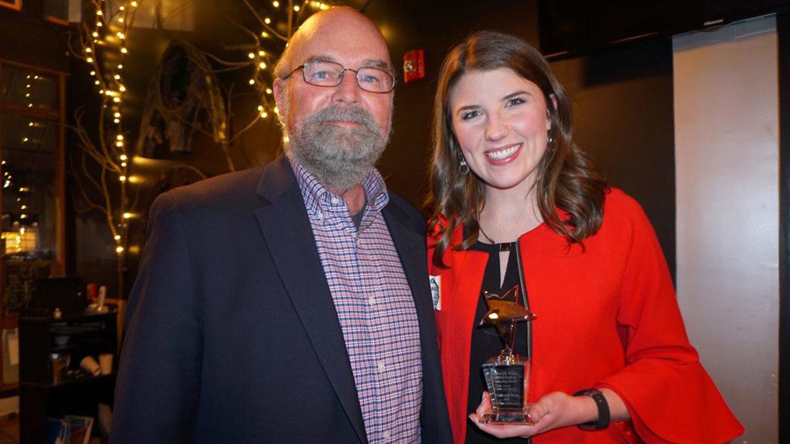 Berger award mackenzie ross