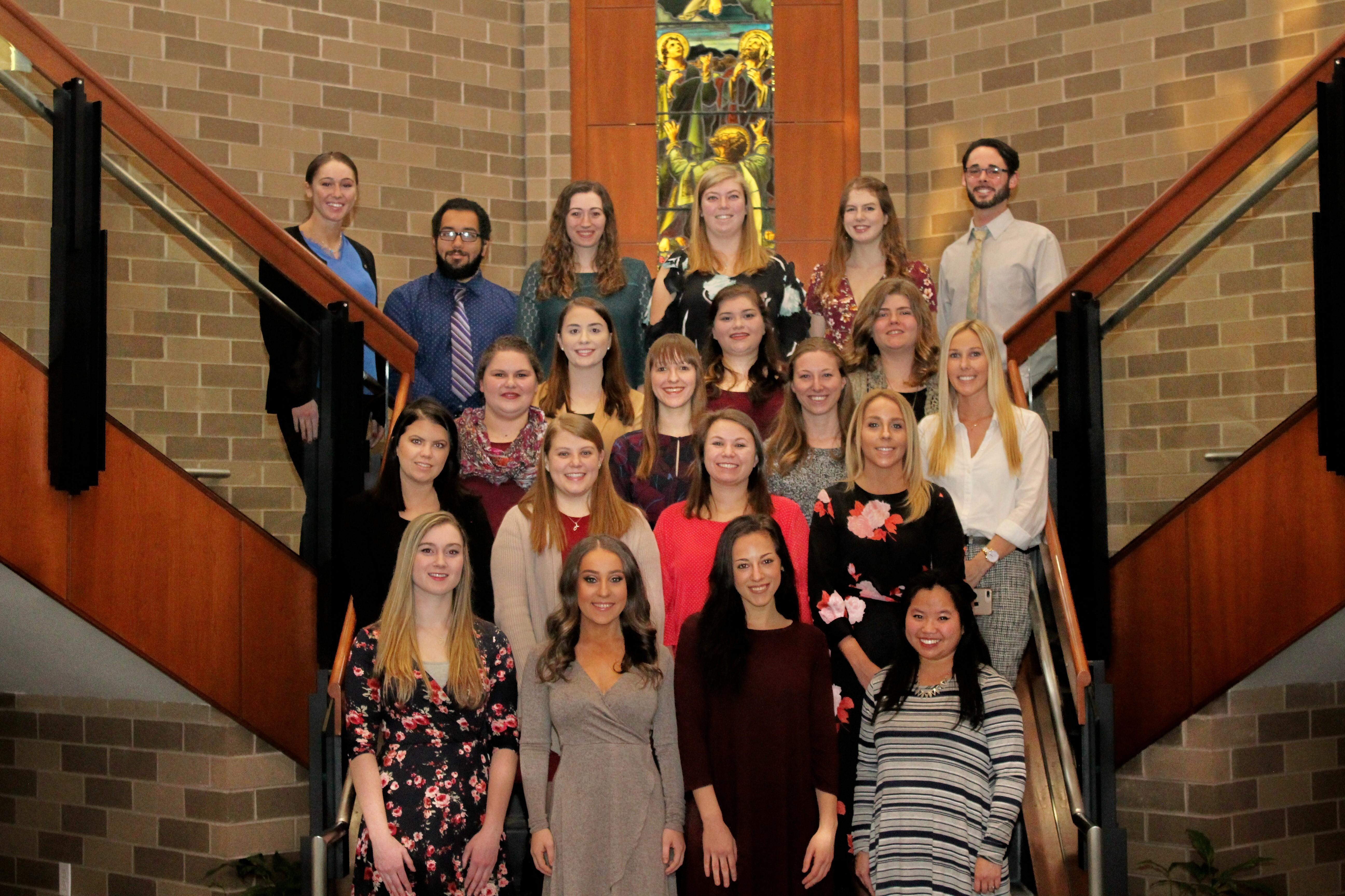 Spring 2018 student teachers