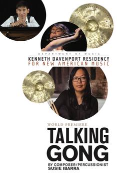 Talking gong poster