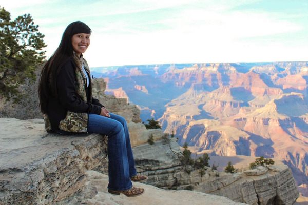Kaniya at grand canyon