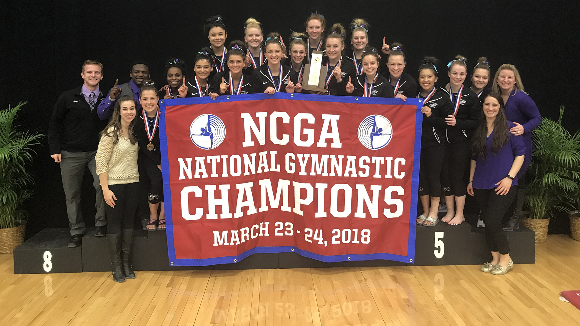 Gym ncga champs march23