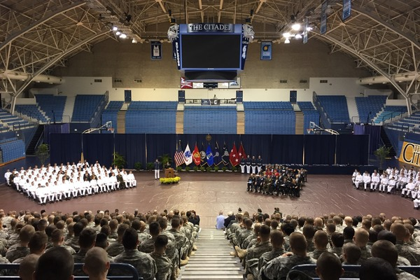 Rotc awards citadel