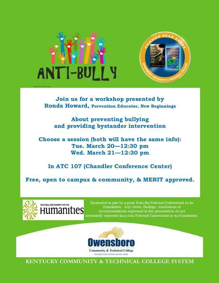 Anti bully workshop