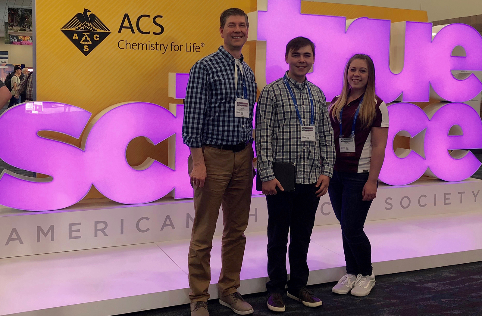 Olivet students 2018 presentation american chemical society social media