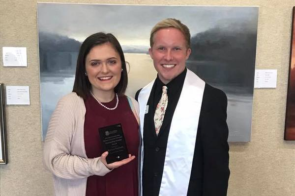 Kristyn kephart outstanding senator award