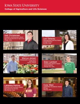 Spring 2018 council senior awards