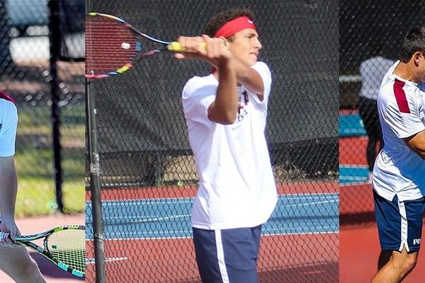 Tennis honors men