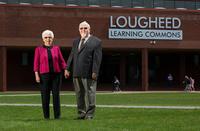 Lougheed learning commons dedication
