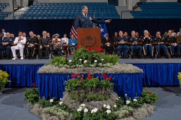 Awards convocation honors outstanding cadets and active duty students