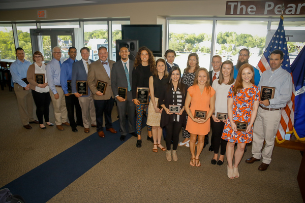 The citadel graduate college honors remarkable students