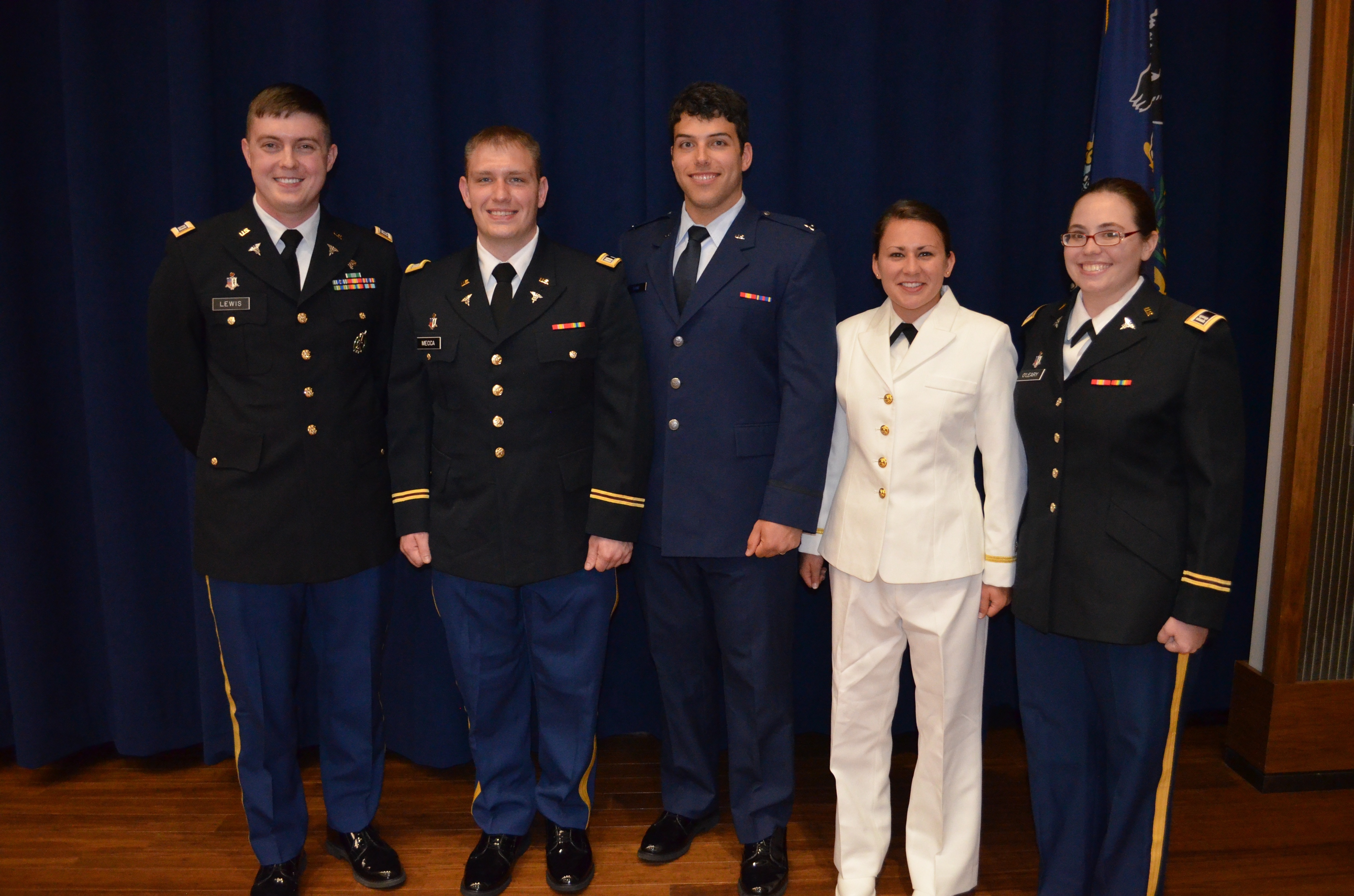 Military commissioning 2018