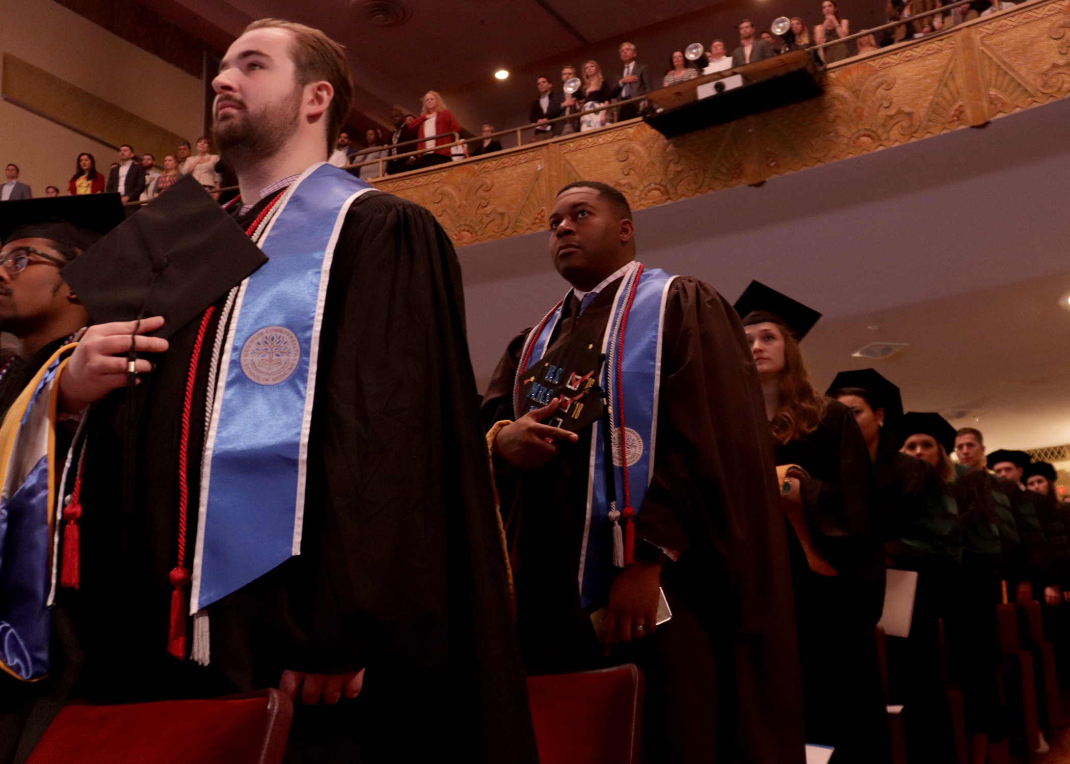 Commencement stundets provcess
