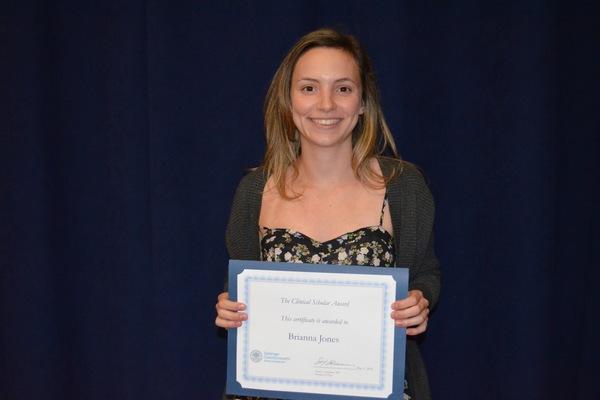 Brianna jones clinical scholar