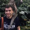 Adam with monkeys