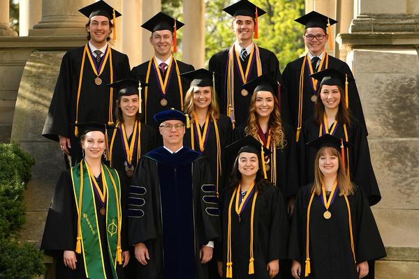 Olivet 2018 graduation honors program graduates may18