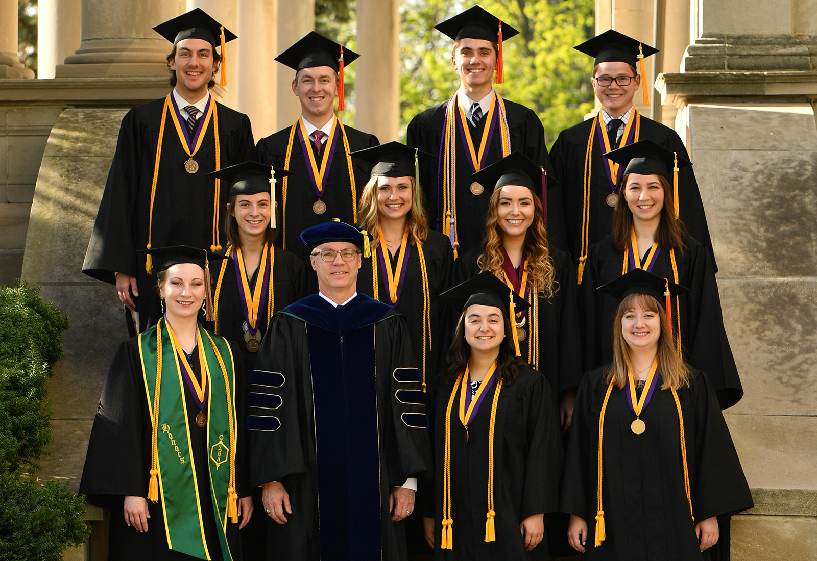 Olivet 2018 graduation honors program graduates may18