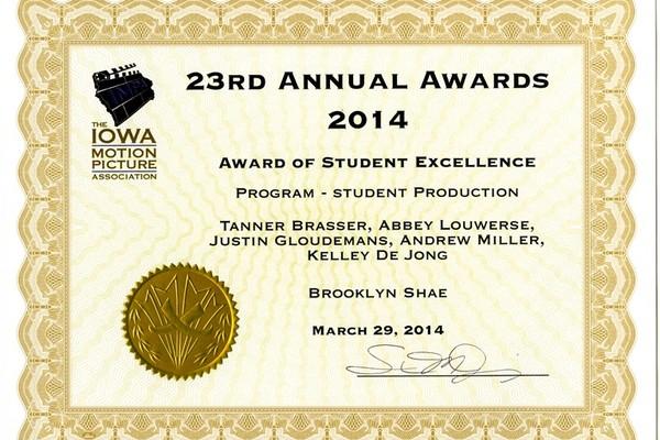 Impa award brooklyn shae medium