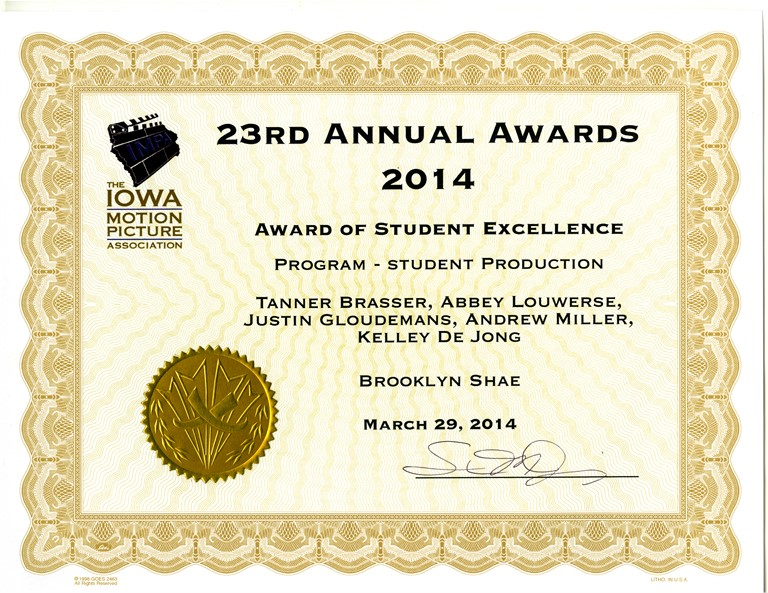 Impa award brooklyn shae medium