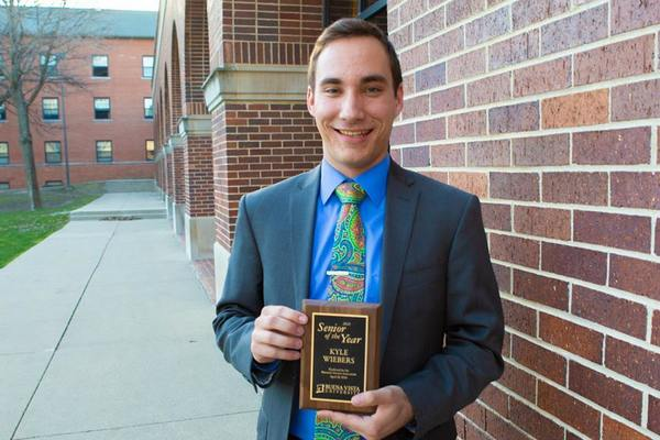 Kyle wiebers senior of the year