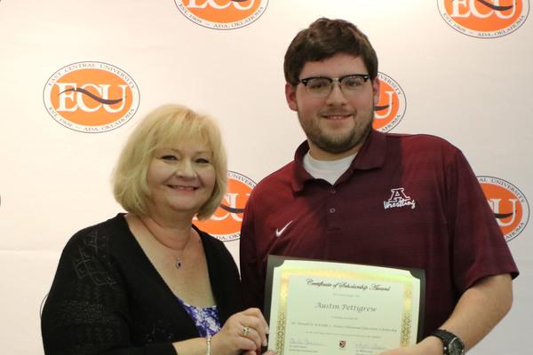 Austin pettigrew   ronald and estelle evans scholarship