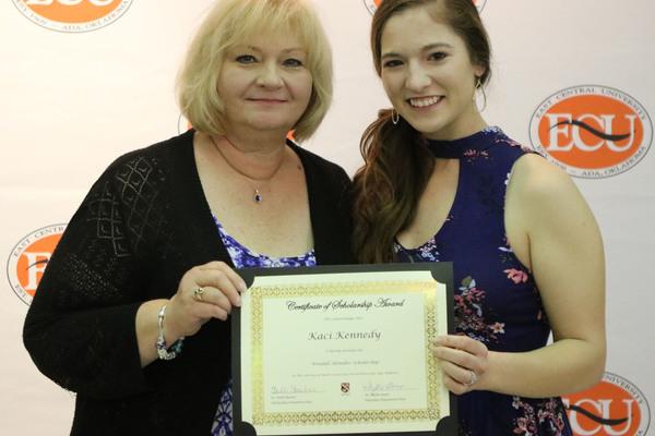 Kaci kennedy   2 schoalrship awards