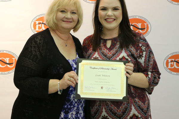 Leah whitten   2 scholarships