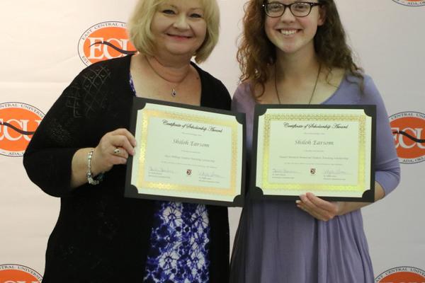 Shiloh earsom   2 scholarships