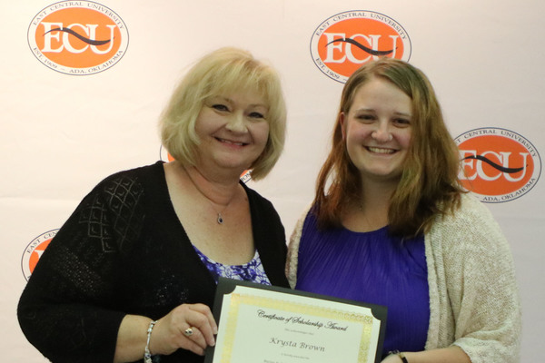 Krysta brown   buster and arlene mcgee scholarship