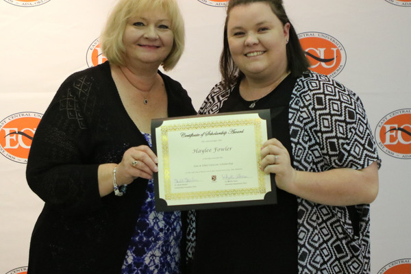 Haylee fowler   2 scholarships