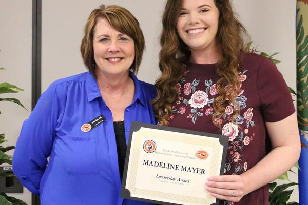 Madeline mayer   counseling leadership award