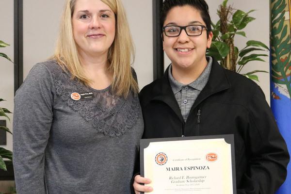 Maira espinoza   baumgartner grad scholarship