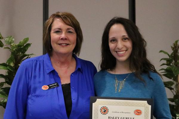 Haley gurule   2 scholarships