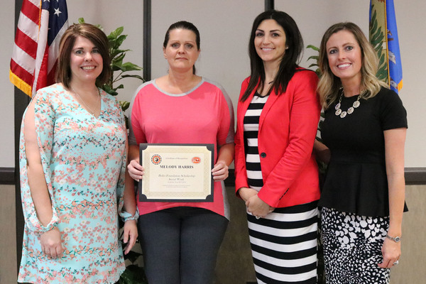 Melody harris   briles social work scholarship