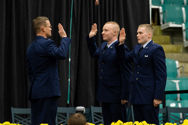 Airforce rotc commissioning