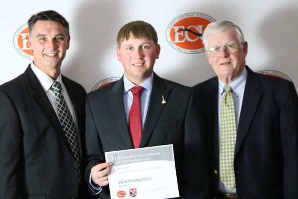 Braden prewett   chapman scholarship 2018