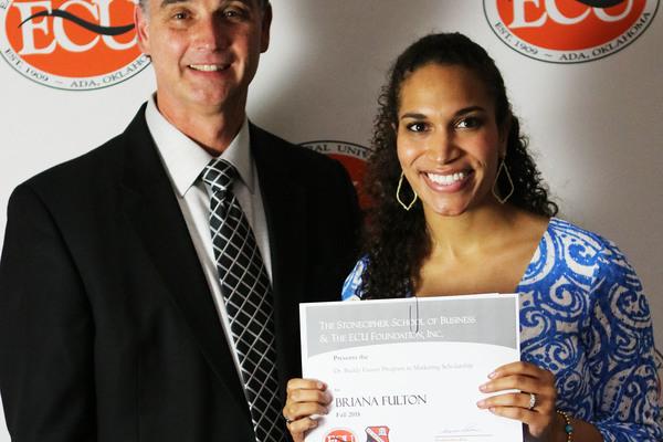 Briana fulton   buddy gaster scholarship 2018