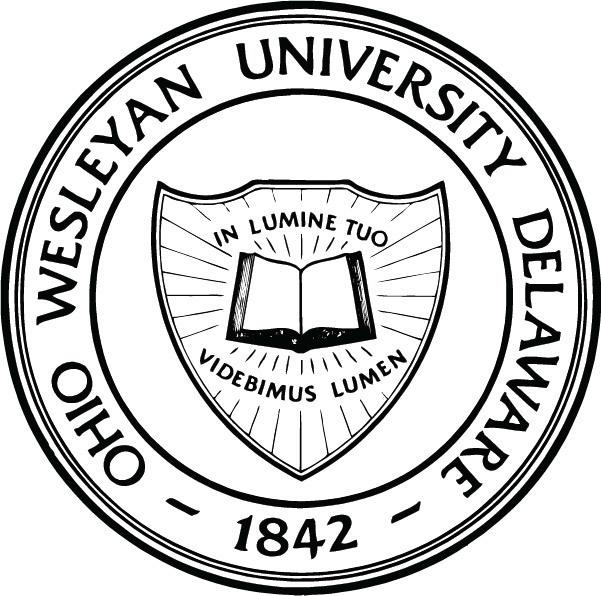 Ohio wesleyan university academic seal