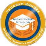 Badge honors air condition
