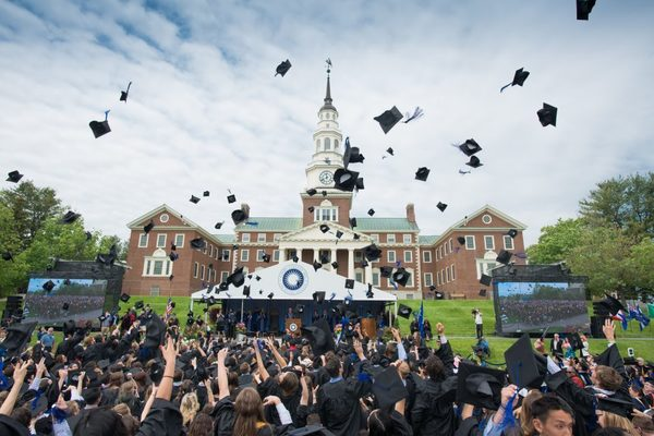 Colby college commencement 2018