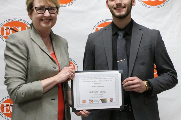 Trevor berg   briles scholarship 2018