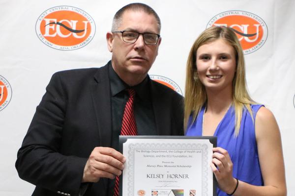 Kelsey horner   price scholarship 2018