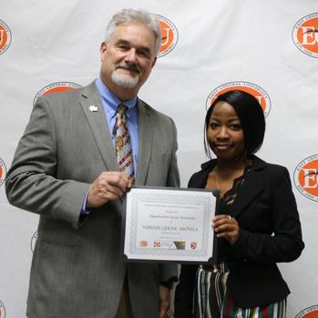 Nuru jacquline msovela   higginbotham family scholarship 2018