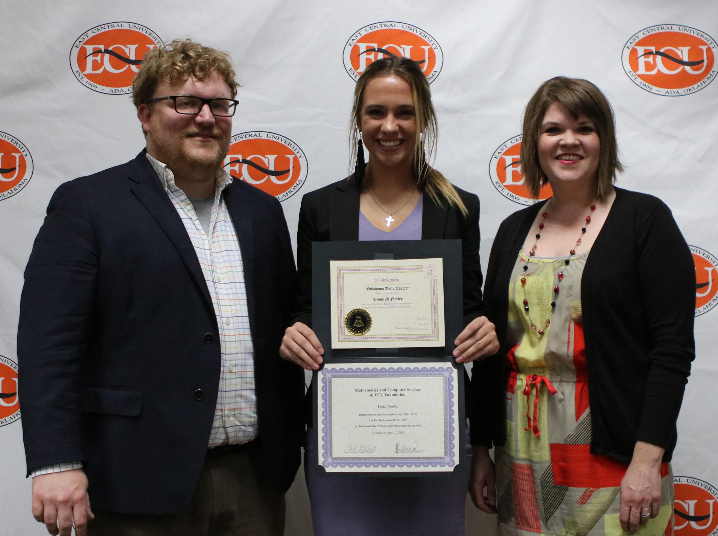 Tessa neeley   multiple scholarships awards 2018
