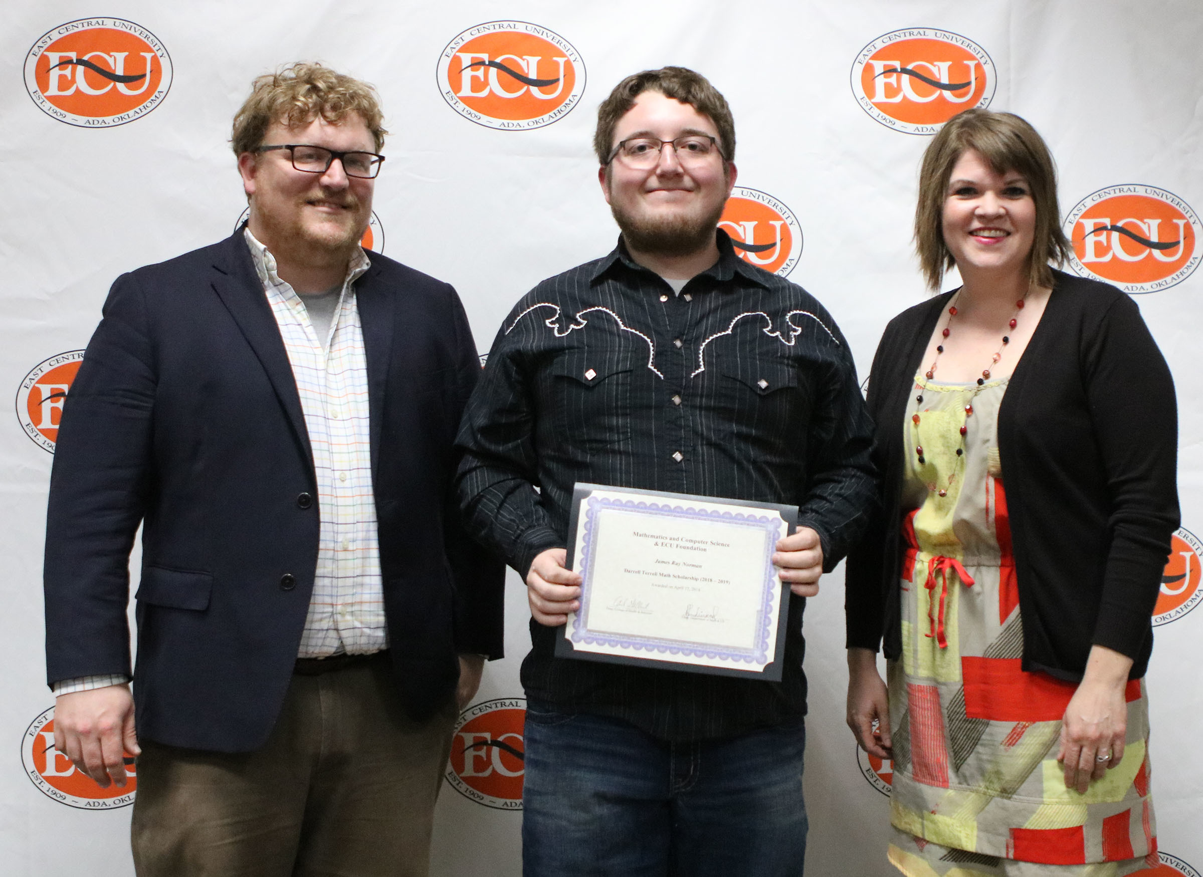 James norman   darrell terrell math scholarship 2018