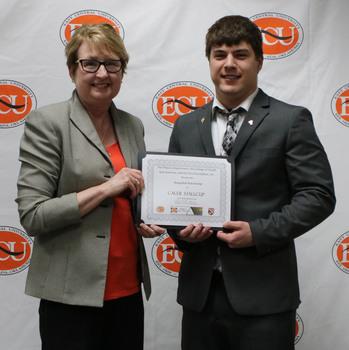 Caleb stallcup   stringfield scholarship 2018