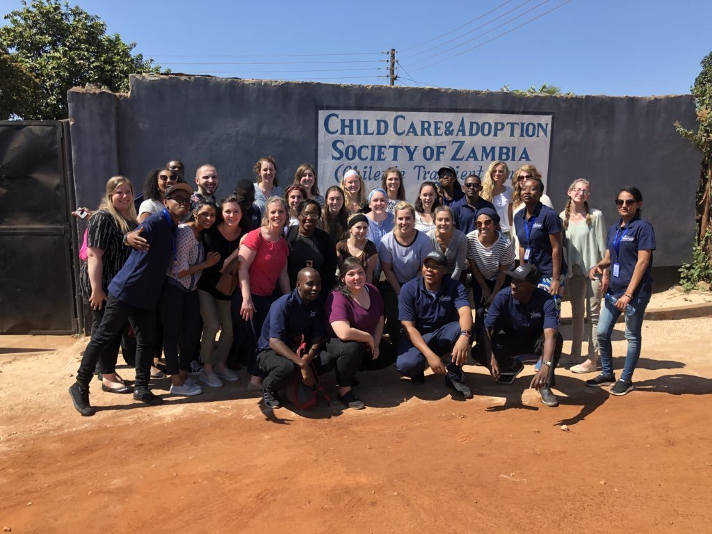 Slp in zambia at the chilenje transient home
