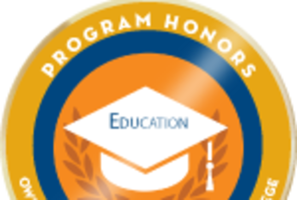Badge honors education