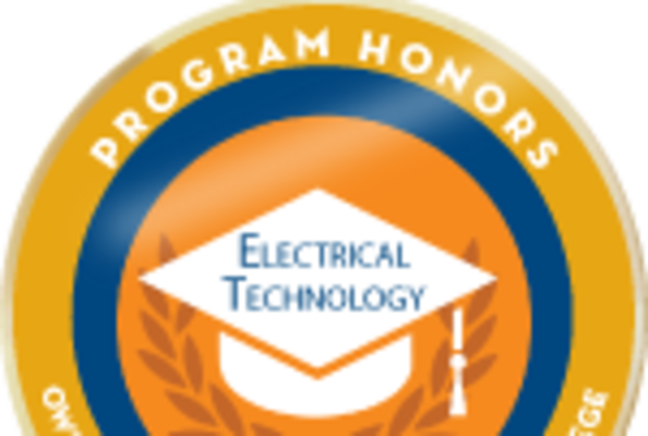 Badge honors electrical tech